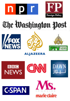 Farhana Qazi Trusted Source Major News Sources